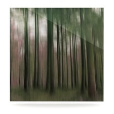 Forest Blur Floating Art Panel