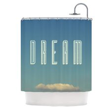 Dream Print Polyester Shower Curtain