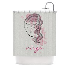 Virgo Polyester Shower Curtain