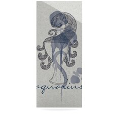Aquarius by Belinda Gillies Graphic Art Plaque