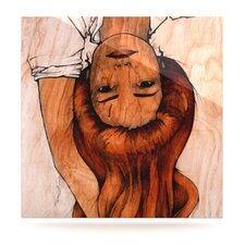 Girl by Brittany Guarino Painting Print Plaque