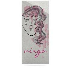 Virgo by Belinda Gillies Graphic Art Plaque