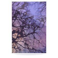Skies by Alison Coxon Graphic Art Plaque in Violet
