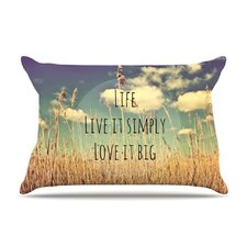 Life Microfiber Fleece Pillow Case