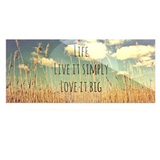 Life by Alison Coxon Graphic Art Plaque