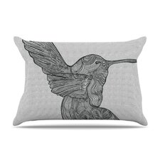 Hummingbird Microfiber Fleece Pillow Case
