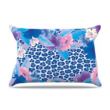 <strong>KESS InHouse</strong> Leopard Microfiber Fleece Pillow Case