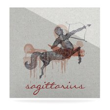 Sagittarius Floating Art Panel