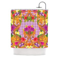 Ornate Polyester Shower Curtain