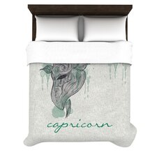 Capricorn by Belinda Gillies Woven Duvet Cover