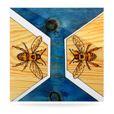 <strong>KESS InHouse</strong> Bees Floating Art Panel