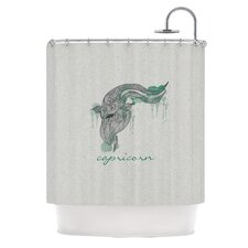 Capricorn Polyester Shower Curtain