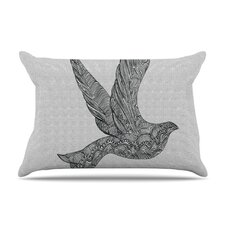 Dove Microfiber Fleece Pillow Case