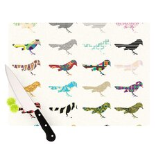 Birds Cutting Board