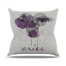 <strong>KESS InHouse</strong> Aries Throw Pillow