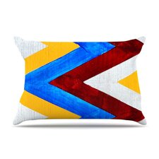 Zig Zag Microfiber Fleece Pillow Case