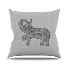 <strong>KESS InHouse</strong> Elephant Throw Pillow
