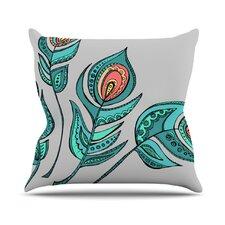 Feathers by Brienne Jepkema Throw Pillow
