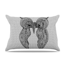 Owl Microfiber Fleece Pillow Case