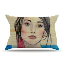 Face Microfiber Fleece Pillow Case