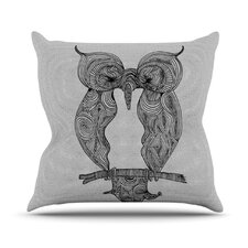 <strong>KESS InHouse</strong> Owl Throw Pillow