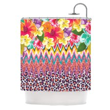 Grow Polyester Shower Curtain