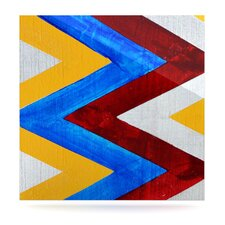 Zig Zag by Brittany Guarino Graphic Art Plaque