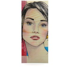 Face by Brittany Guarino Painting Print Plaque