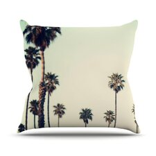 California by Bree Madden Throw Pillow