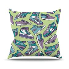 Sneaker Lover IV Throw Pillow