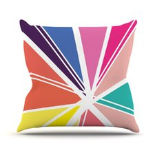 Boldly Bright Throw Pillow