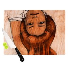 Girl Cutting Board