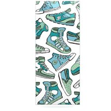 Sneaker Lover III by Brienne Jepkema Graphic Art Plaque