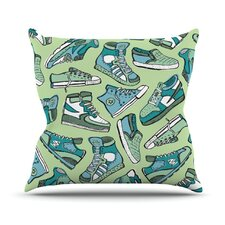 Sneaker Lover I Throw Pillow