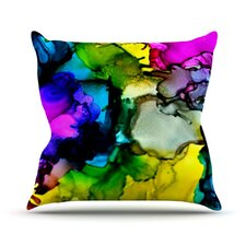 <strong>KESS InHouse</strong> A Little Out There Throw Pillow