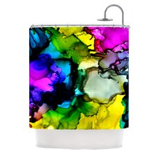 <strong>KESS InHouse</strong> A Little Out There Polyester Shower Curtain