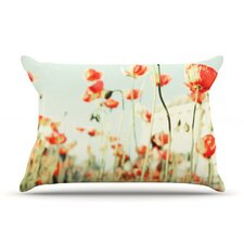 Poppy Microfiber Fleece Pillow Case