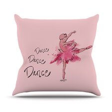 <strong>KESS InHouse</strong> Ballerina Throw Pillow