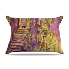 Down The Alleyway Microfiber Fleece Pillow Case