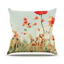Poppy by Bree Madden Throw Pillow