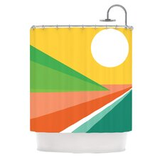 Beach Polyester Shower Curtain