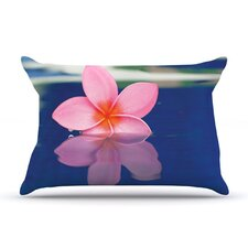 Plumeria Microfiber Fleece Pillow Case