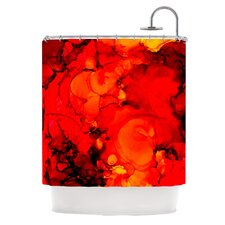 Family Photos II Polyester Shower Curtain