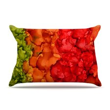 Fall Splatter Microfiber Fleece Pillow Case