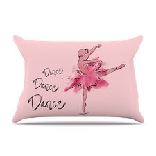 Ballerina Microfiber Fleece Pillow Case