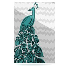 Peacock by Brienne Jepkema Graphic Art Plaque