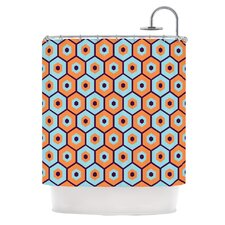Busy Polyester Shower Curtain