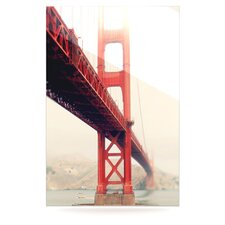 Golden Gate by Bree Madden Photographic Print Plaque