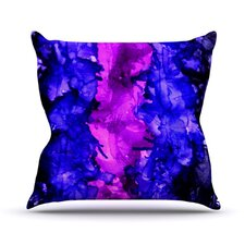 Drops by Claire Day Throw Pillow
