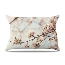 Japanese Blossom Microfiber Fleece Pillow Case